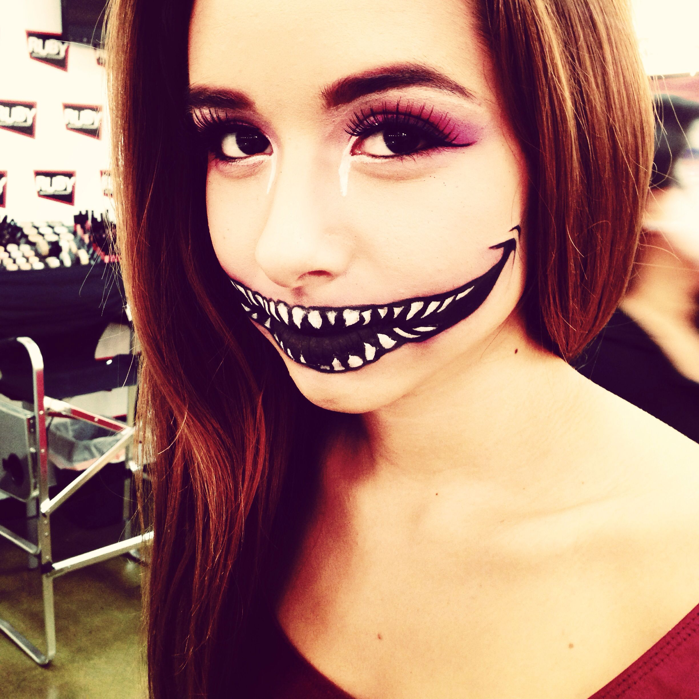 cheshire cat face paint | my face painting | pinterest | cheshire