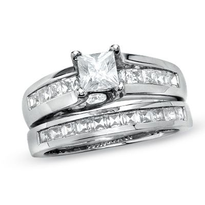 Pretty Pretty Wedding Set Who Knows Maybe For Our 10th