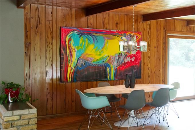 Modern Dining Room Photo by Amanda Roelofs Design - Homeclick ...