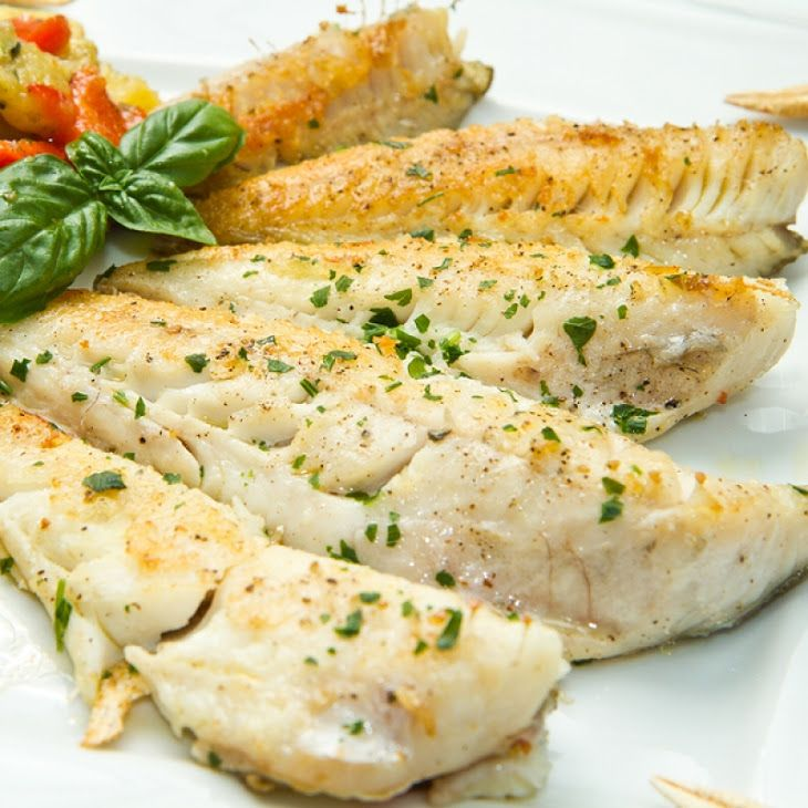 Baked white fish fillets recipe main dishes with cod for Fish fillet recipe