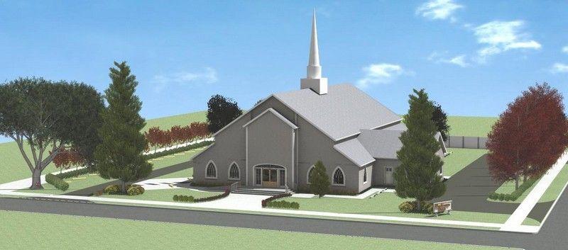 Church Front Design Commercial Architectural Design