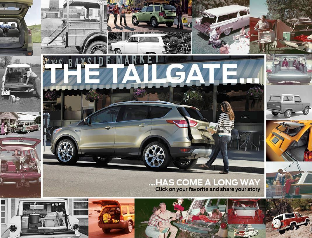 Evolution Of The Liftgate Evolution Car Ford Auto News