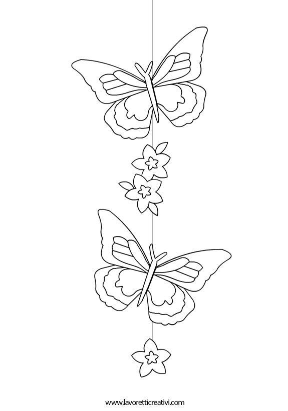 Addobbi primavera farfalle2 fiori pinterest scuola primavera e decorazioni primavera - Addobbi primavera per finestre ...