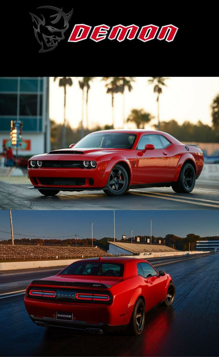 2018 Dodge Charger: The 2018 Dodge Challenger SRT Demon Is An Absolute Beast