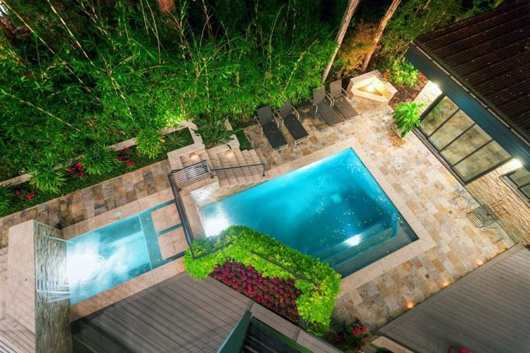 Aménagement jardin paysager autour du0027une piscine u2013 40 idées fascinantes - amenagement autour d une piscine