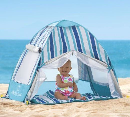Hit the Beach Baby! Must-Have Gear for a Day at the Shore. Baby CanopyBaby Beach TentPop Up ... & Hit the Beach Baby! Must-Have Gear for a Day at the Shore ...