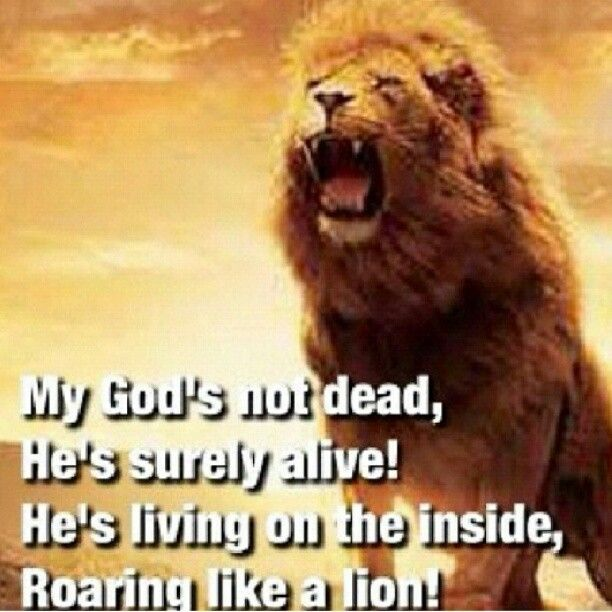 God's Not Dead (Like A Lion) by the Newsboys. This is one of my favorite songs.
