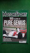 Motor Sport Magazine January 2002 Senna At Donnington DB4 vs Vanquish