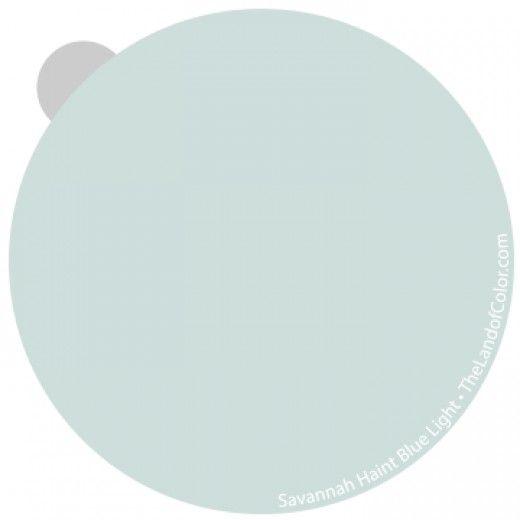 Haint Blue Mysterious And Elusive Paint Color Blue Ceilings