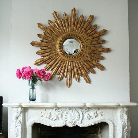 miroir de sorci re or convex mirror chez graham green miroir sorciere miroir oeil de