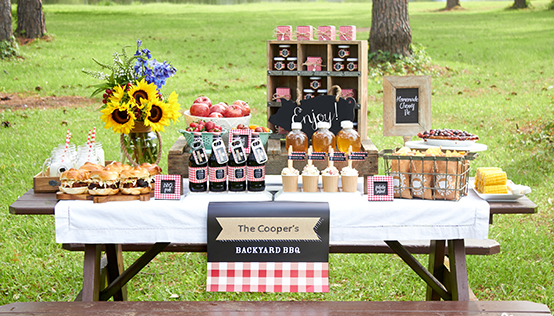 Make your next backyard BBQ one to remember with our BBQ Themed ...