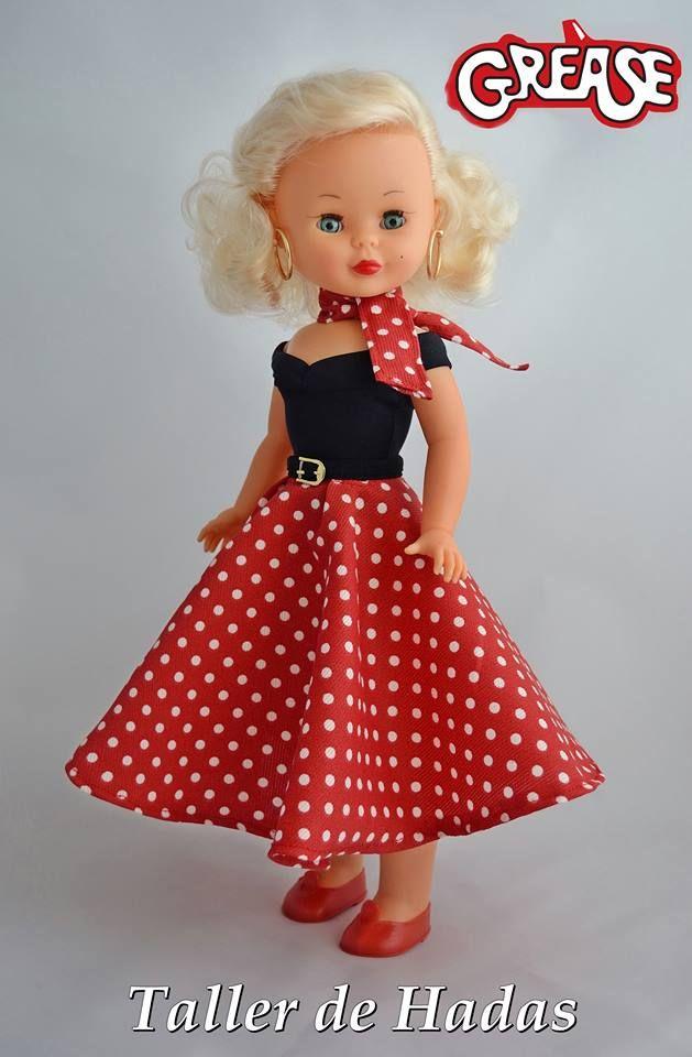 Nancy Grease | patrones vestidos de Nancy | Pinterest