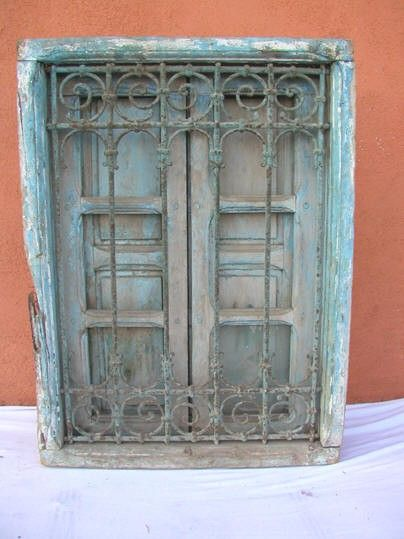 Antique Window from Morocco - Antique Window From Morocco Home ♥ Doors Pinterest Antique