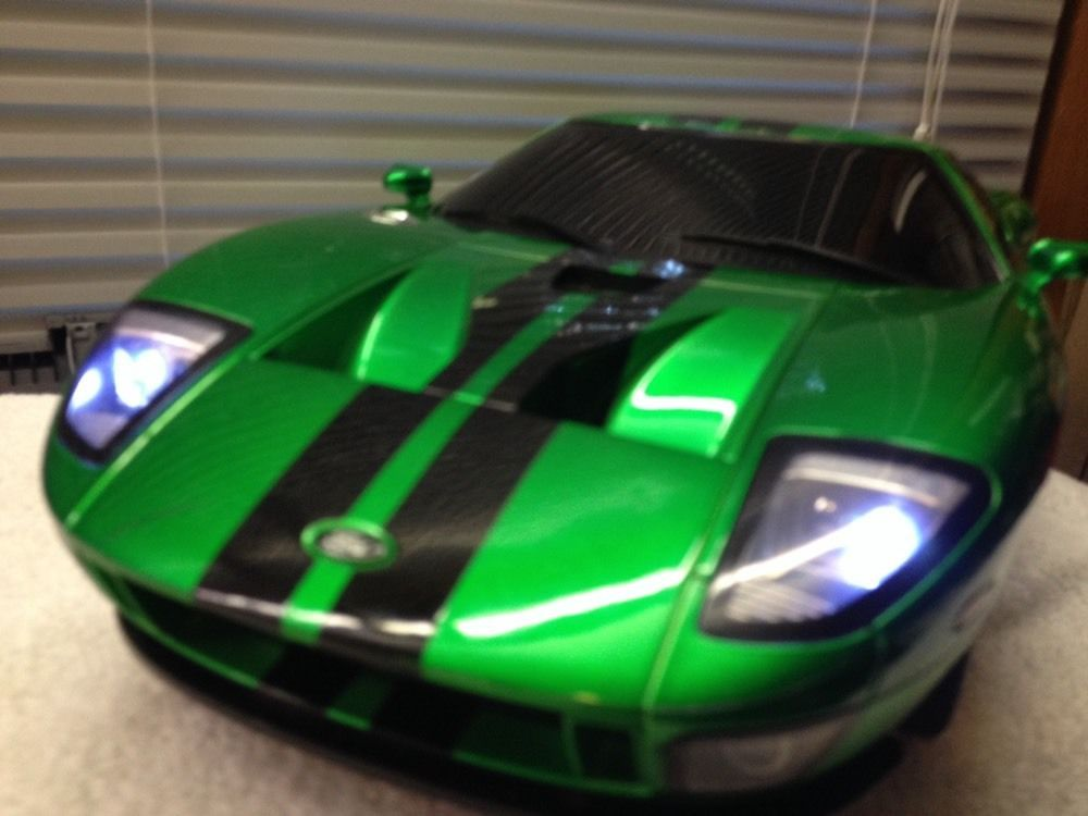 Candy Green  Licensed Ford Gt Electric Rtr Remote Control Rc Car Xq Xinyuartsltdxqtoys