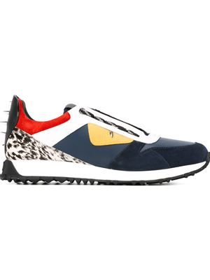 Fendi panelled sneakers   Homme Fashion   Pinterest   Fashion ... 0240a362635