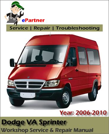 download dodge va sprinter service repair manual 2006 2010 dodge rh pinterest com 2006 Dodge Sprinter Interior 2006 Dodge Sprinter Interior