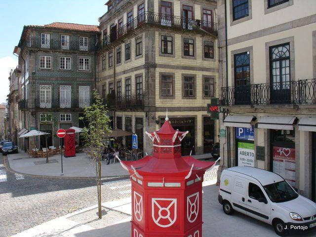 Porto  Quiosque no Largo Monplier.