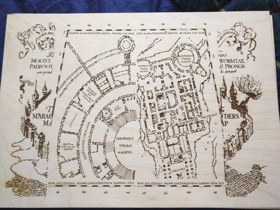 Marauder's Map by Adelbrand on DeviantArt |Marauders Map Drawing