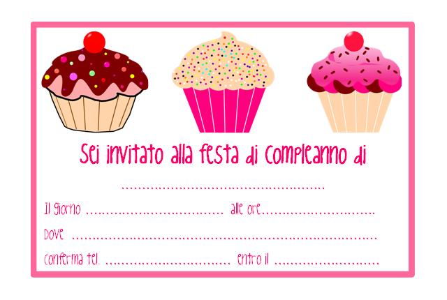 Inviti Festa Di Compleanno Da Stampare Free Printable Compleanno