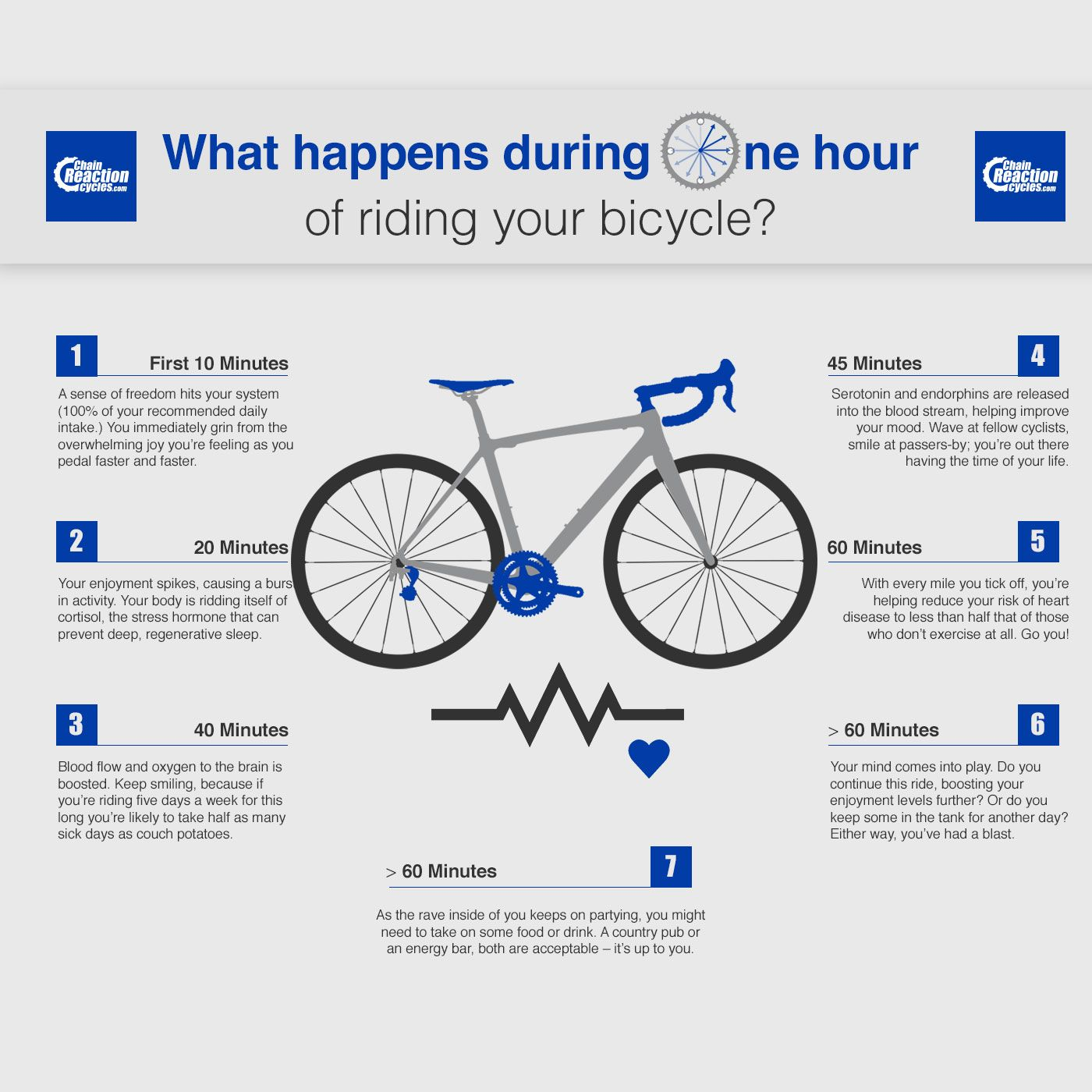 What Happens During One Hour Of Riding Your Bicycle With Images