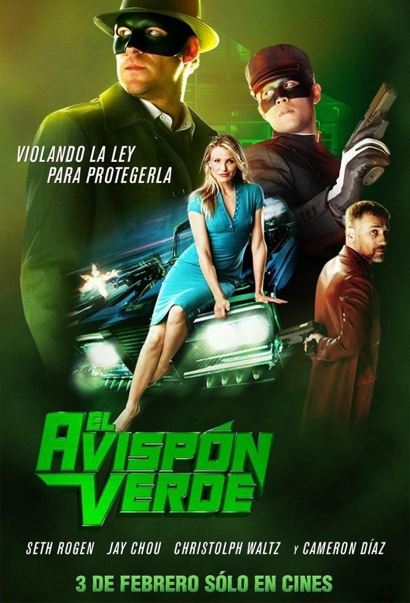 El Avispon Verde (2011) 9 Muy Buena Avispon verde