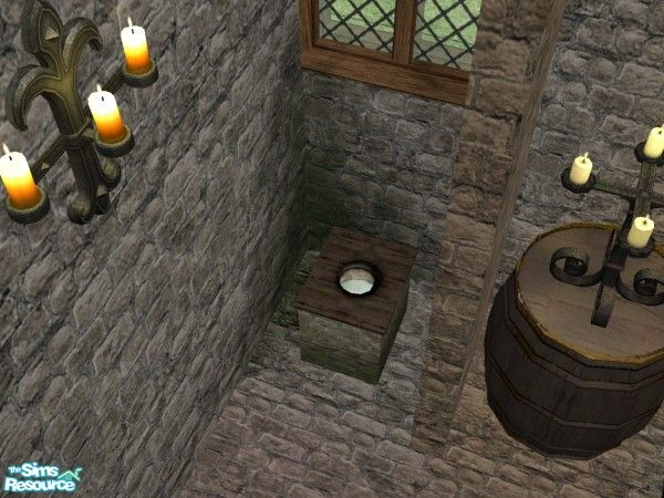 Medieval Back To Basics Toilet Medieval Late Middle