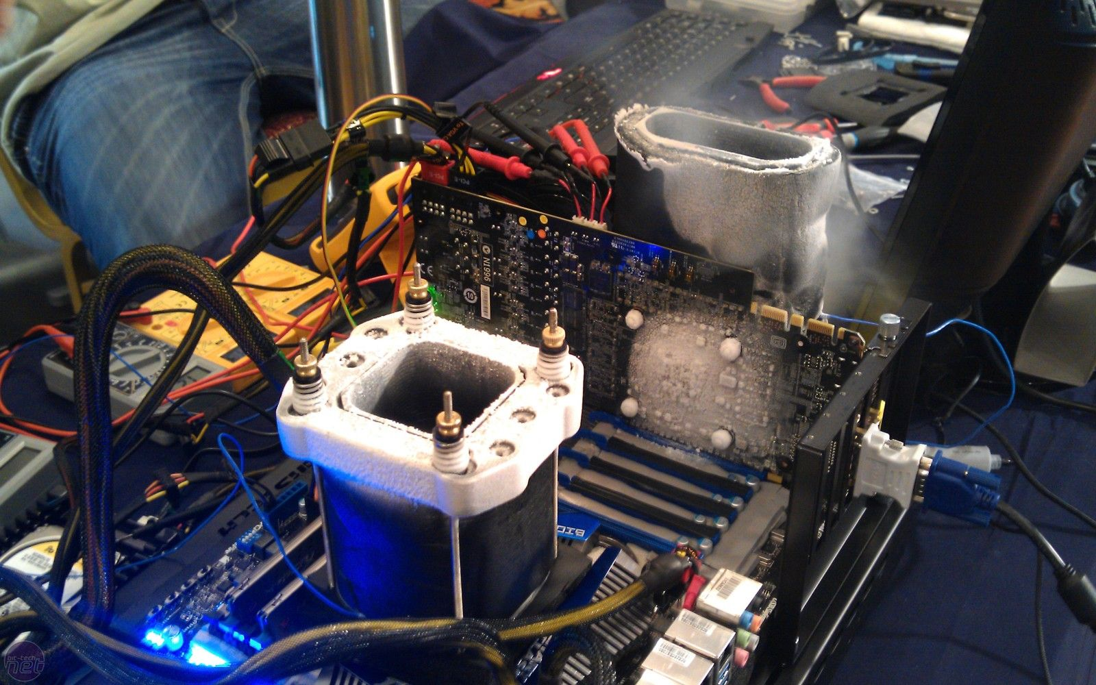 Cooling With Liquid Nitrogen Core I7 Intel Intel Core