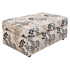England Malibu Living Room Storage Ottoman With Casual Style   Furniture  Discount Warehouse   Ottoman Crystal