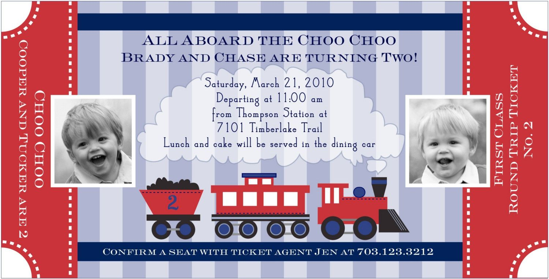 train ticket invitation | Babies | Pinterest | Party invitations ...