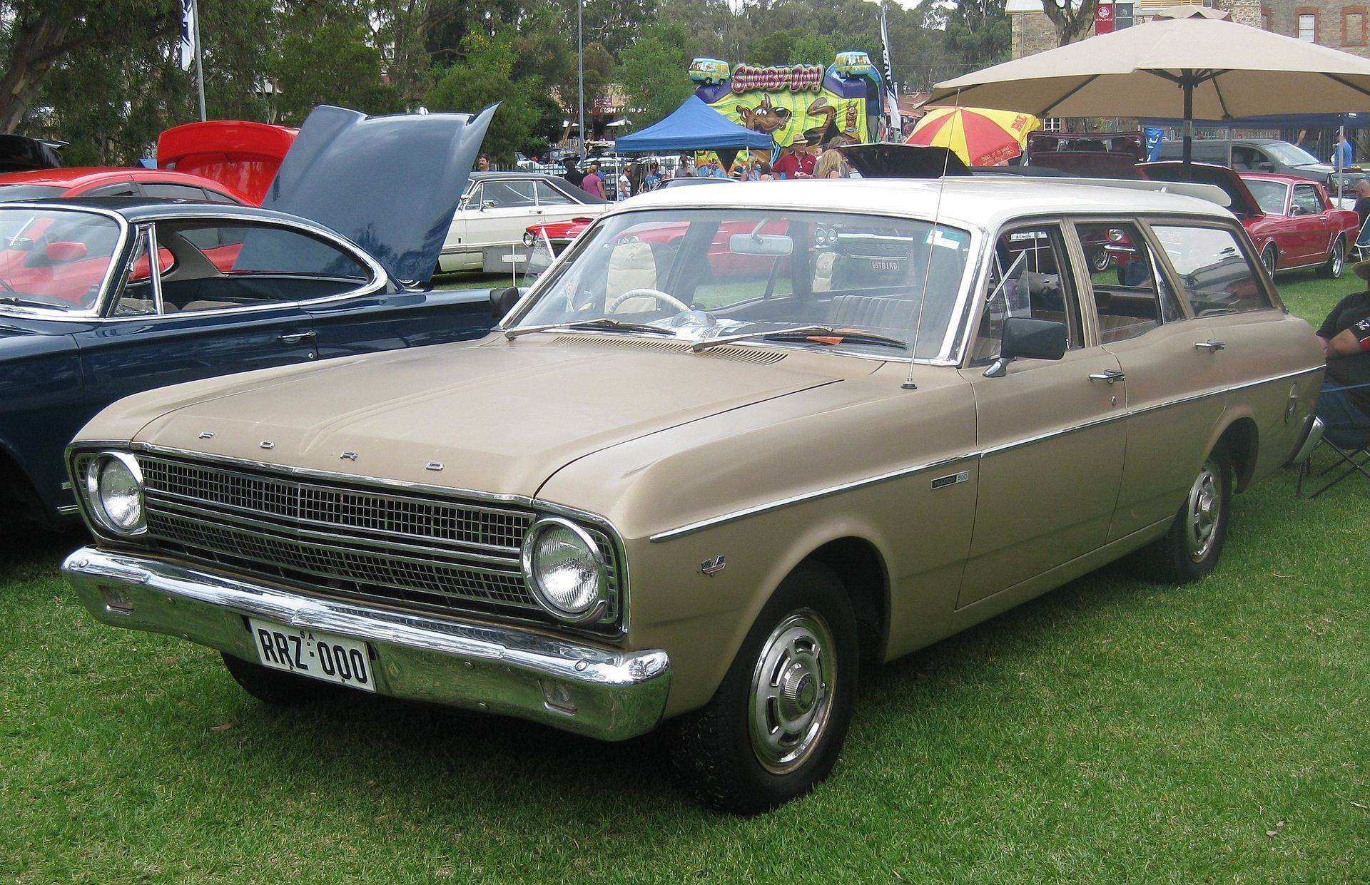 Ford Xr Falcon 500 Station Wagon Ford Falcon Australia