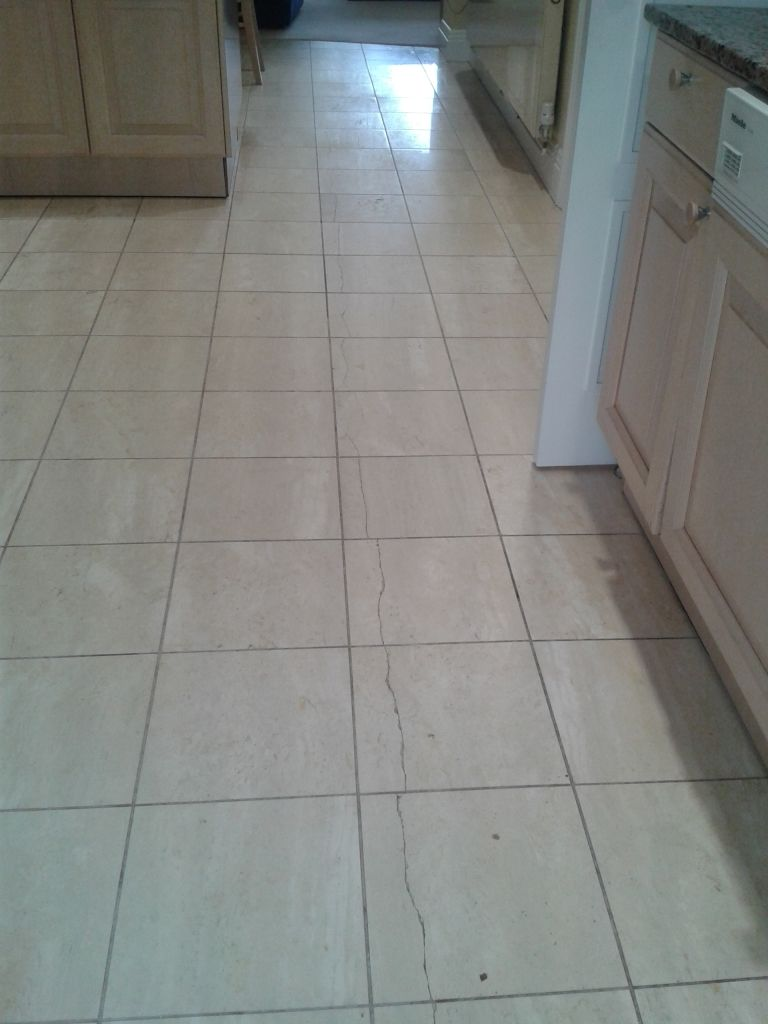 Travertine Tile Floor Cleaning Details Can Be Found By Clicking