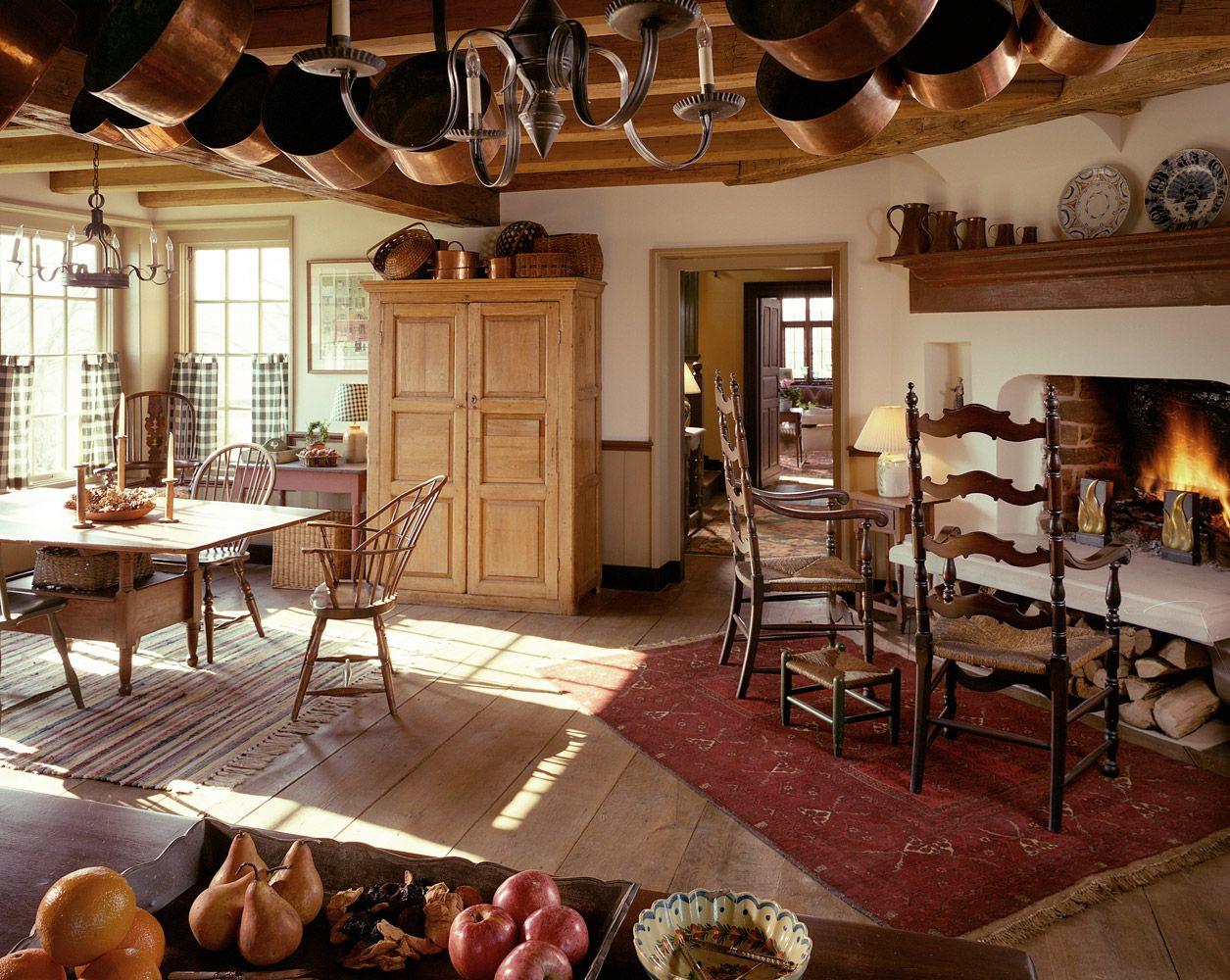 John Milner Architect Design Preservation Chadds Ford Pennsylvania Living Rooms