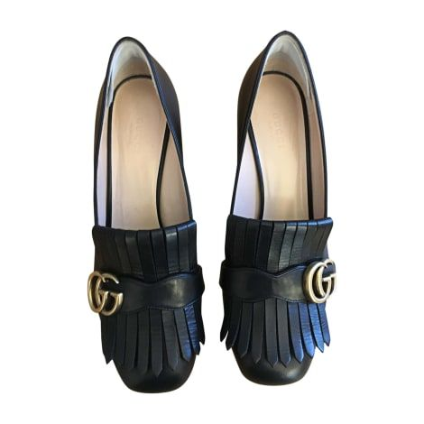 40f10df4be8 Loafers GUCCI 39 black - 7145448
