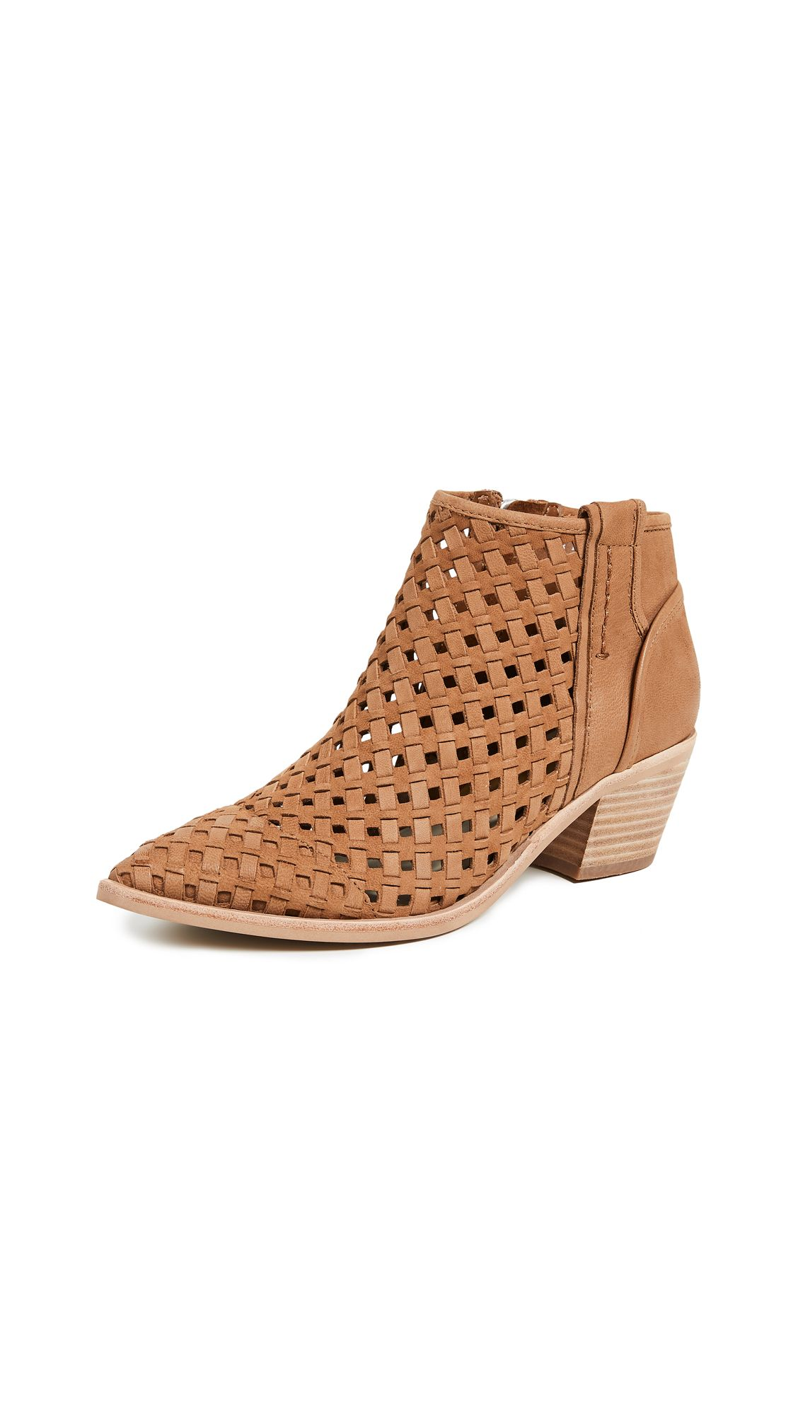 d20fcbd0ee0 Spence Woven Booties by Dolce Vita in Dk Saddle in 2018
