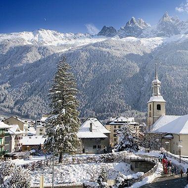 Mont Blanc Chamonix Best Vacation Destinations Chamonix Winter Scenery