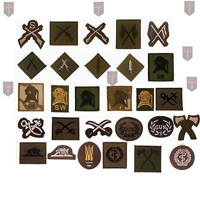 #Large selection of #official british army #trade / qual badges (  lot 1,  View more on the LINK: http://www.zeppy.io/product/gb/2/180927357271/