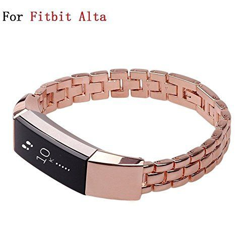 f9fc9a03dc8c Fitbit Alta Rose Gold Band Accessory Replacement Sports Wristbands  Straps-Silicone