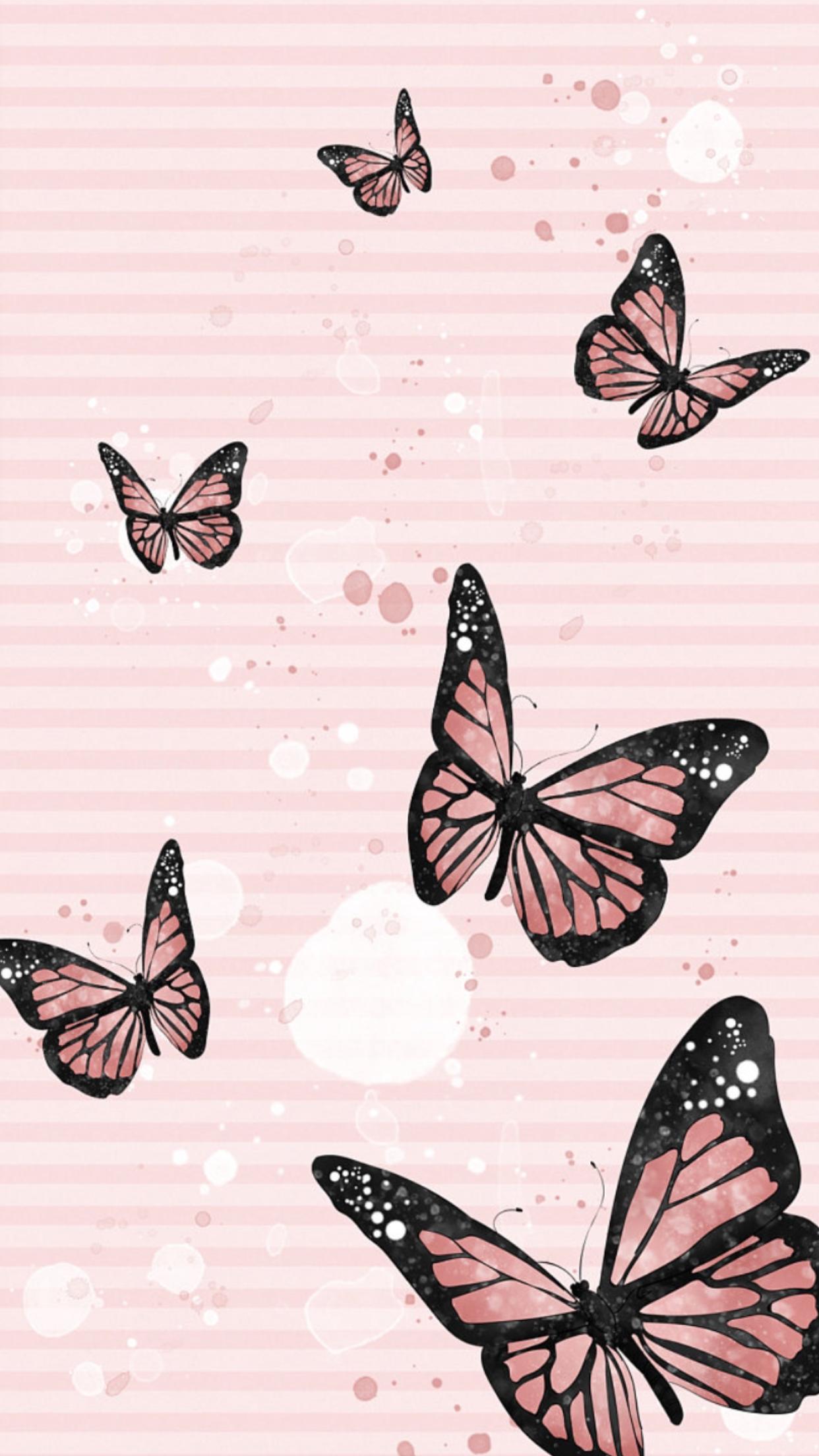 ꭵꮲhsnye ꮃallpapyerѕ Iphone Wallpaper Tumblr Aesthetic Butterfly Wallpaper Iphone Pretty Phone Wallpaper