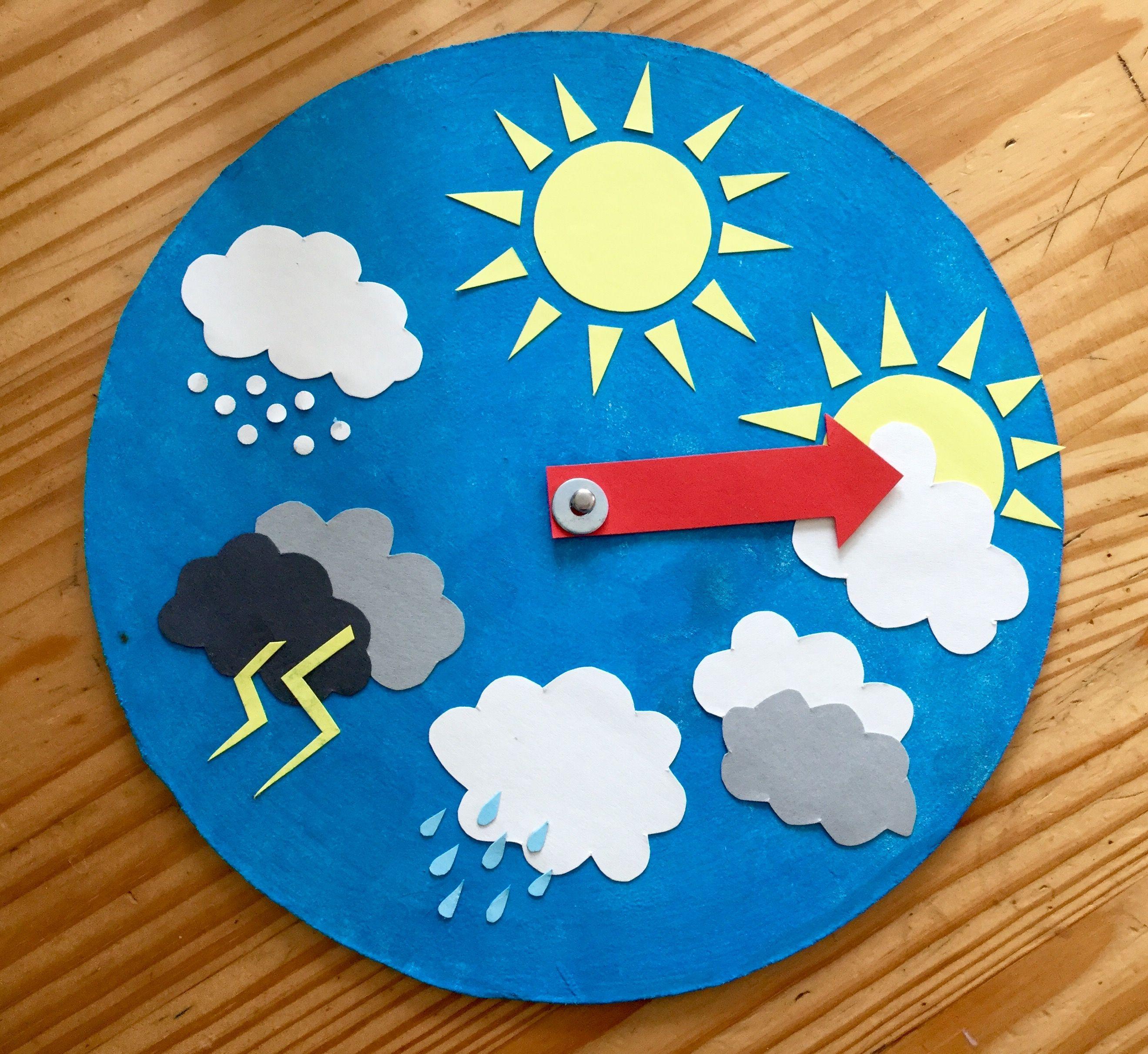 Wetterstation für Kinder | dolgu oyuncak | Pinterest | Kindergarten ...