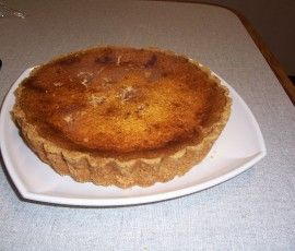 Custard and Cottage Cheese Tart: A custard tart that is a little bit different.