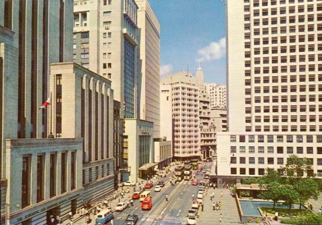 1960s Central Banking District With Images Hong Kong History Of Hong Kong British Hong Kong