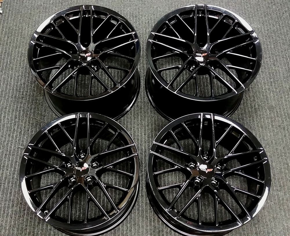 Factory C6 Chevrolet Corvette Zr1 20 19 Oem Wheels Zo6 Grand