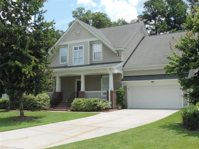 Beautiful top quality semi-customized home in a fantastic Golf Community located just South of Summerville city limits. Raised foundation and full front porch welcomes you to this ideal traditional home. As you enter into the Foyer that opens to the second floor your will fine a open and large Formal Dining area to the right and a Formal SittingStudy to the left. Follow the Foyer back into the spacious and open Great Room with two story open ceiling and gas Fireplace open to Kitchen. A…