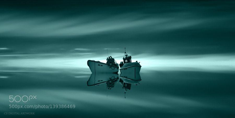 http://ift.tt/1PuBZOe Fine #ArtPolar Boats by pixelpilot