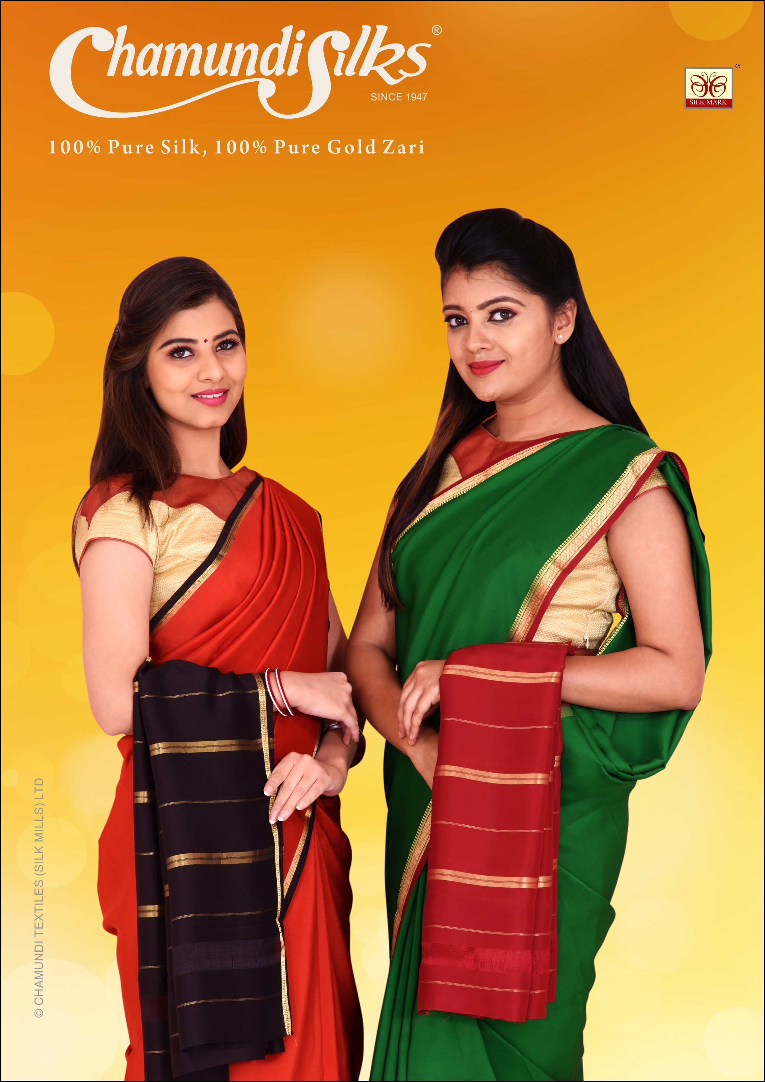71a287ce1af Usher in prosperity and happiness in fine silk! Iniya Tamil Puthandu  Vazhthukkal!