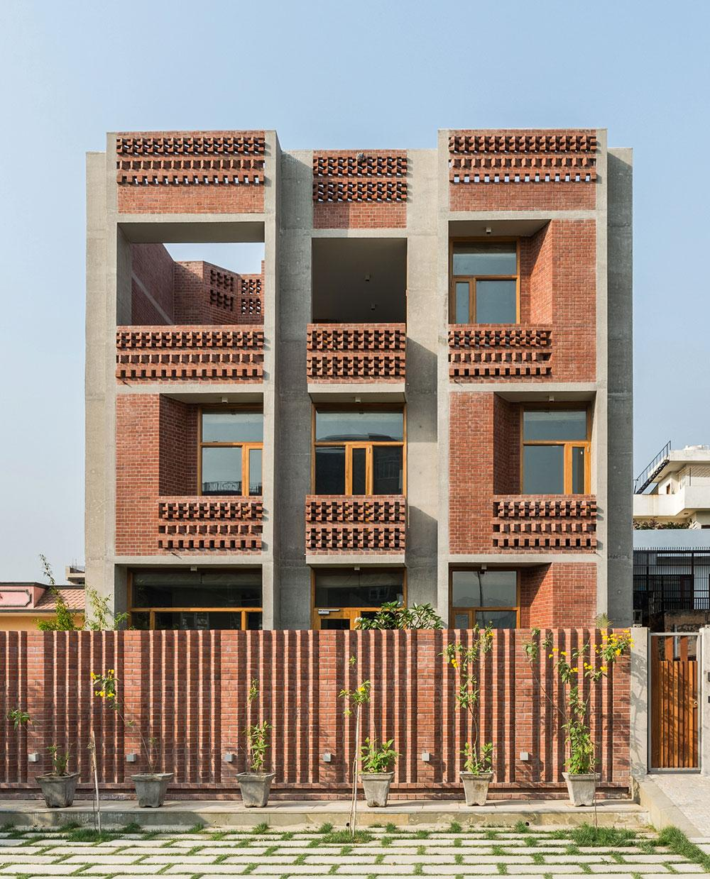 N85 Residence In New Delhi India: An Experimental Home Near New Delhi Offers A New Template
