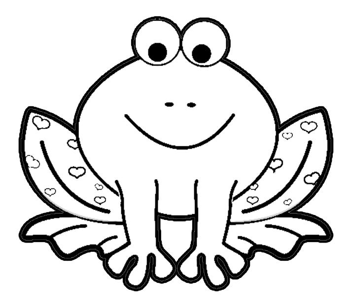 Valentines Day Frog Png 712 622 Hayvan Boyama Sayfalari Kurbaga Boyama Sayfalari