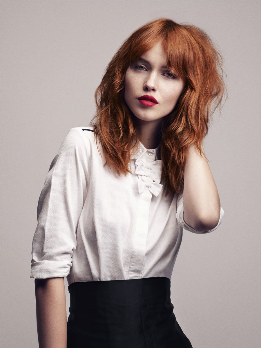 25 hairstyles for Red Hair for inspiration! | Uk hairstyles, Red ...
