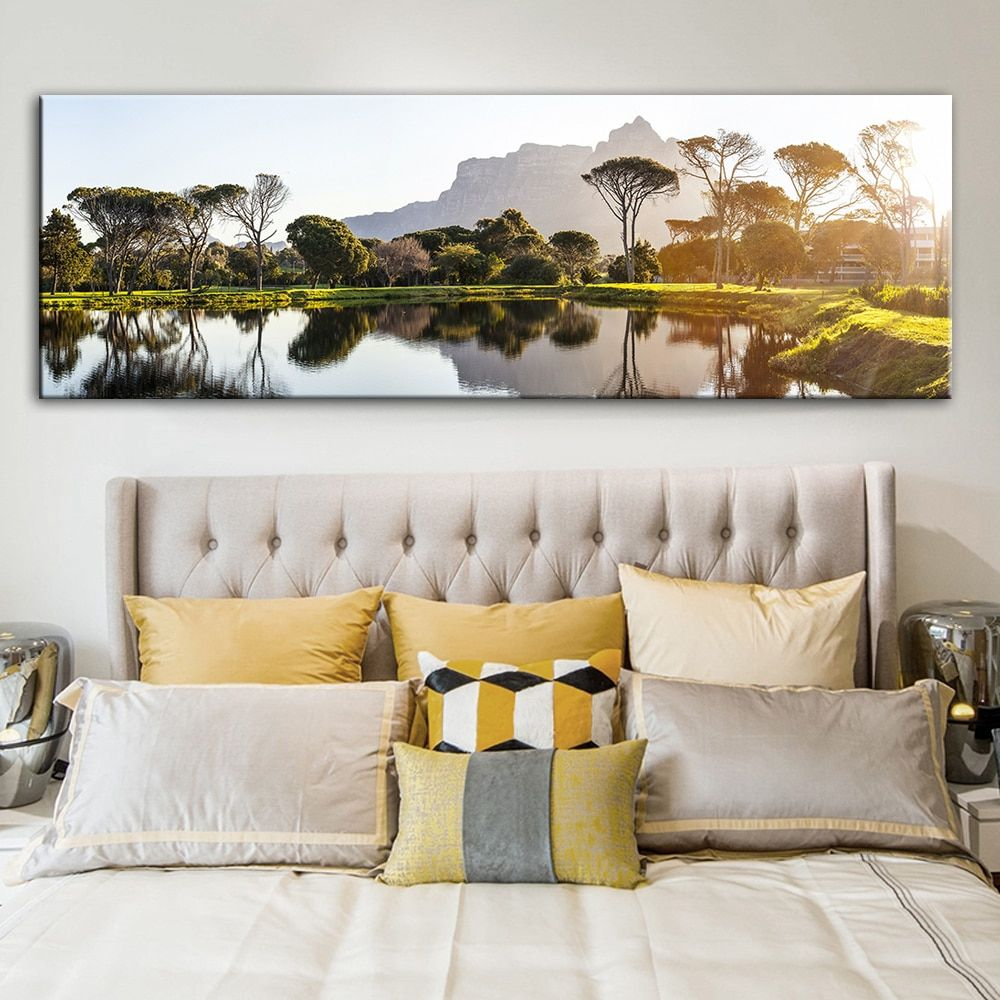Running Horses And Sunset Landscape Canvas Paintings Posters And Prints Wall Art Picture For Living Room Home Decoration In 2020 Living Room Art Prints Canvas Art Wall Decor Canvas Pictures #nice #living #room #paintings