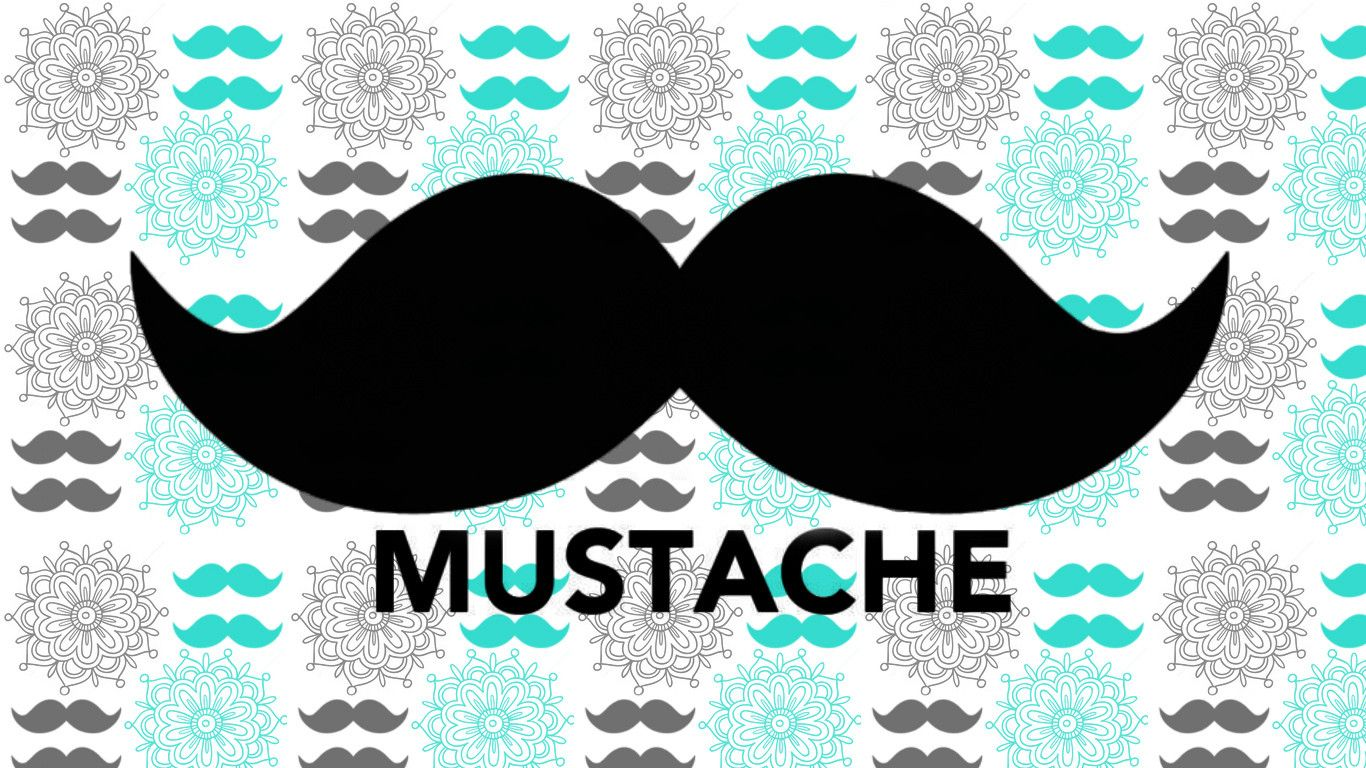 Wallpapers For Colorful Mustache Wallpaper